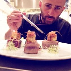 Manuel Marchetta ha da sempre respirato l'aria della cucina, fin da piccolo nel locale di famiglia.
